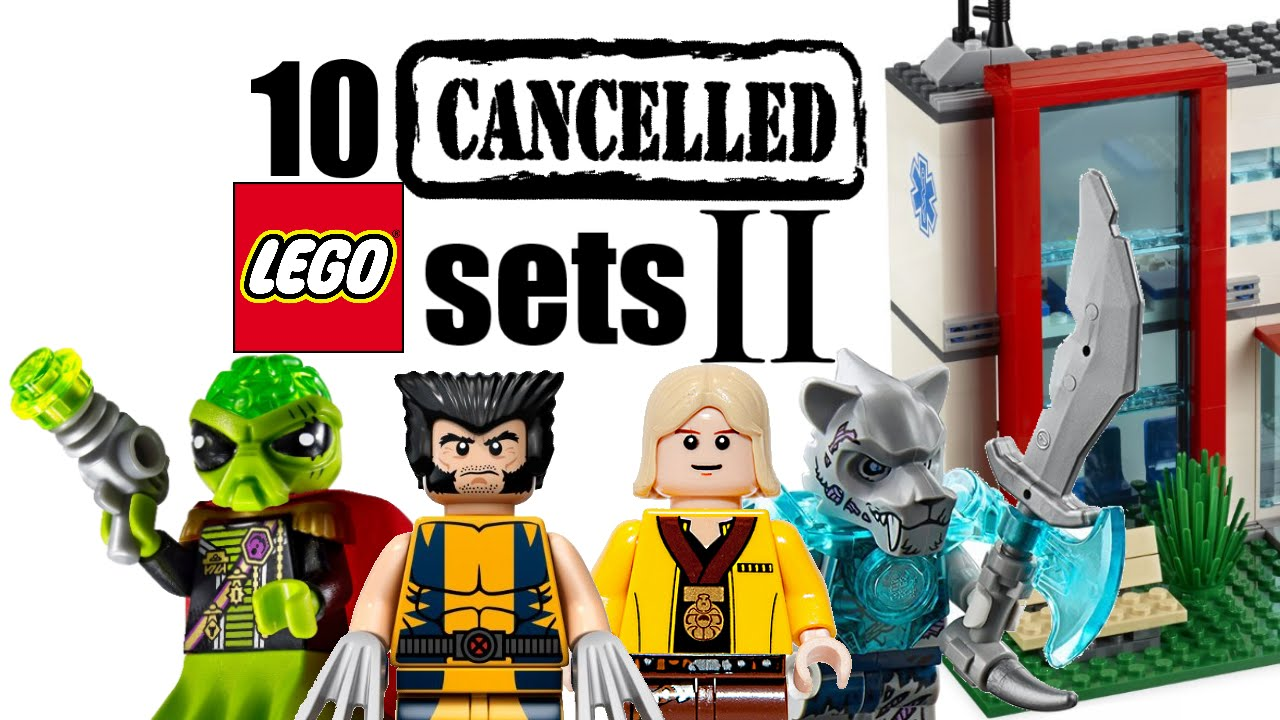 top 10 cancelled lego sets the sequel youtube. Black Bedroom Furniture Sets. Home Design Ideas