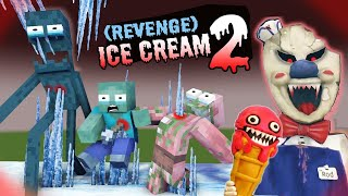 MONSTER SCHOOL : ICE CREAM CHAPTER 2 - THE REVENGE OF HEROBRINE (SAD STORY) - MINECRAFT ANIMATION