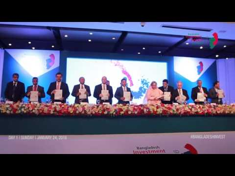 Bangladesh Investment & Policy Summit 2016 - Day 1