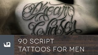 Video 90 Script Tattoos For Men download MP3, 3GP, MP4, WEBM, AVI, FLV Juni 2018