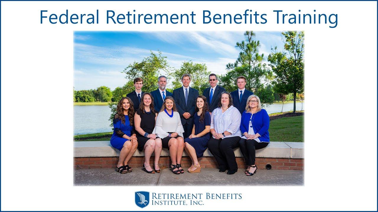 Federal Retirement Benefits Training