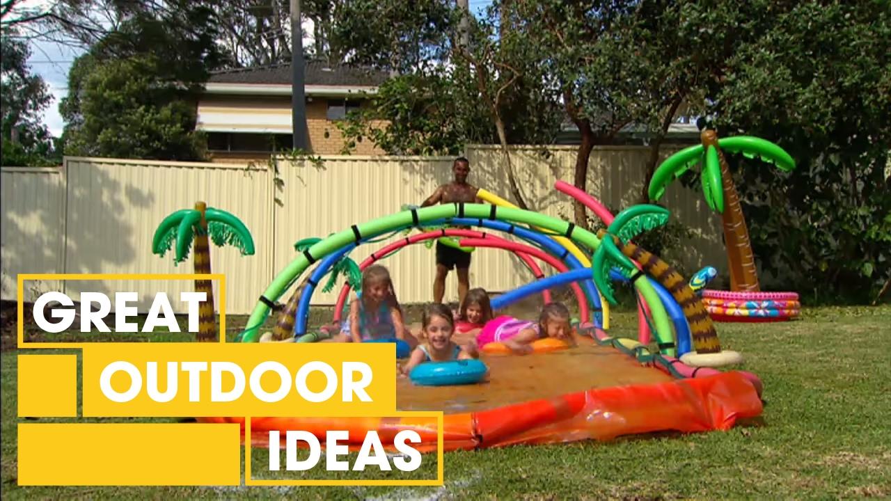 How To Make The Ultimate DIY Slip 'n Slide | Outdoor ...