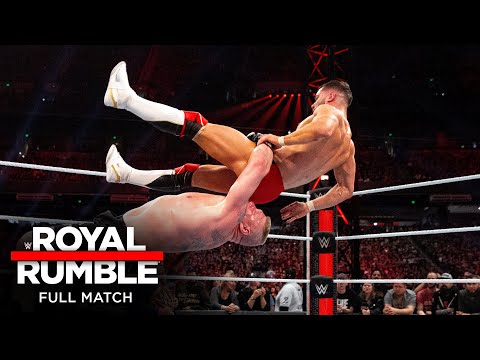FULL MATCH - Brock Lesnar vs. Finn Bálor – Universal Title Match: Royal Rumble 2019