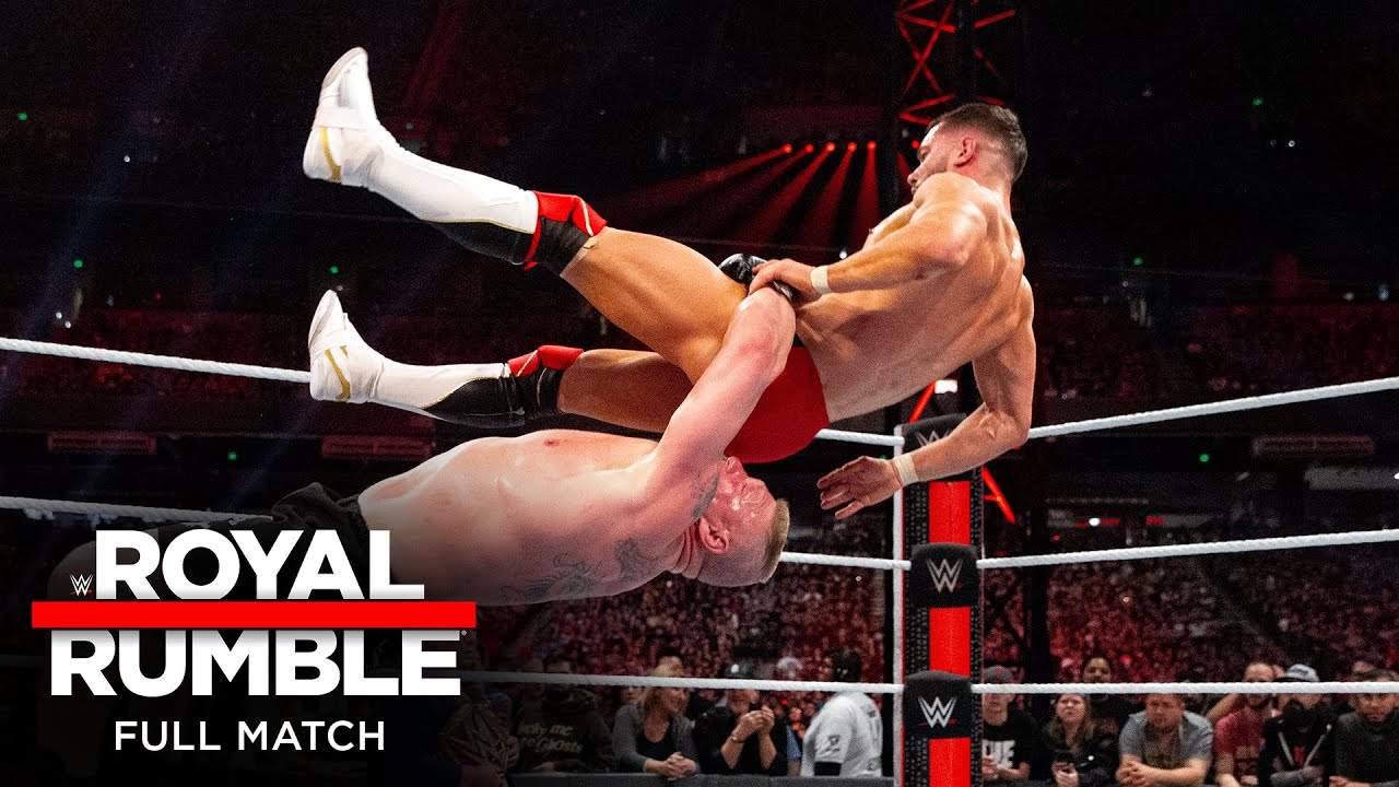 Download FULL MATCH - Brock Lesnar vs. Finn Bálor – Universal Title Match: Royal Rumble 2019