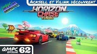 [QMPC #062] La Team GHM découvre Horizon Chase Turbo sur Playstation 4
