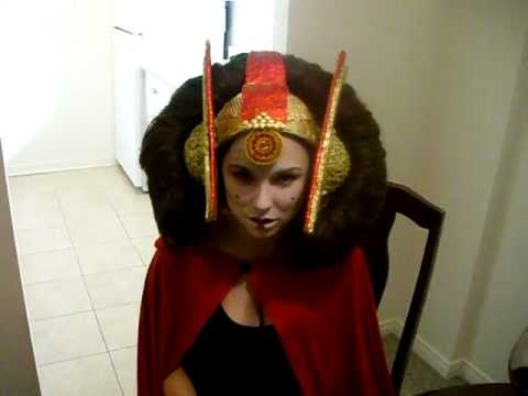 Queen Amidala Costume - YouTube