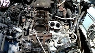 Болячка Frontera A x22xe (ремонт мотора) 1 серия