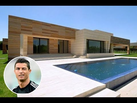 Cristiano Ronaldo House in Madrid Inside Complete Tour  2017 New  YouTube