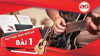 Dạy đàn ghitar - Bạn nữ chơi guitar siêu đáng yêu - Trung tâm Nghệ Thuật Adam