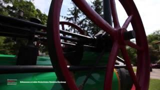 Lokomobila Garrett Smith w zbiorach Muzeum Rolnictwa w Ciechanowcu