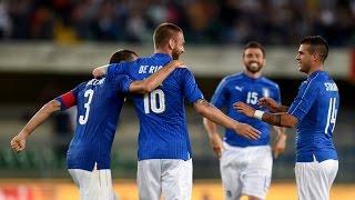 Highlights: Italia-Finlandia 2-0 (6 giugno 2016)
