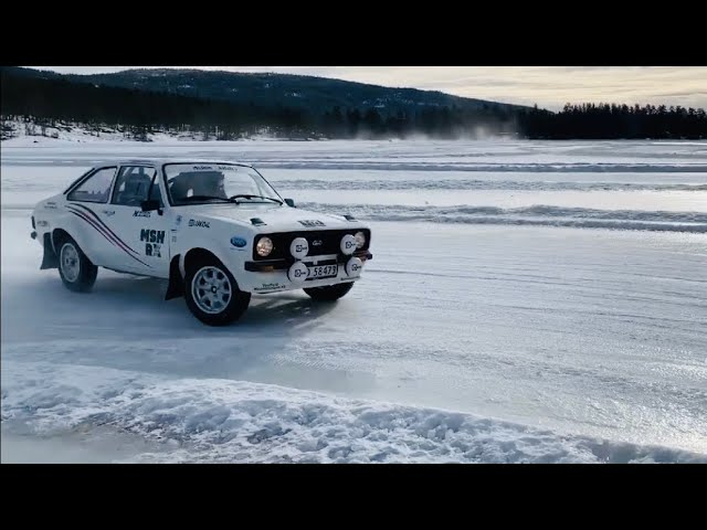 SS SUPER RALLY GT FORD ESCORT MK2 ON A FROZEN LAKE - VLog 102