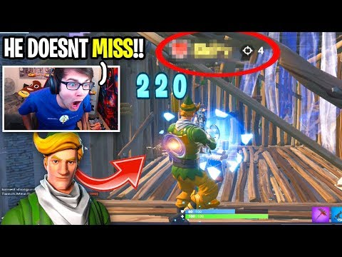 I spectated a CODENAME ELF and he DIDNT MISS AT ALL... (rarest skin in Fortnite)