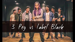 3 PEG vs LABEL BLACK | One Take | Tejas Dhoke Choreography | DanceFit Live