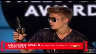 Justin Bieber Wins The Milestone Award - Billboard Music Awards 2013