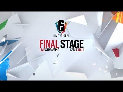 Six Invitational - Semifinali Day 05 - Rainbow Six Siege