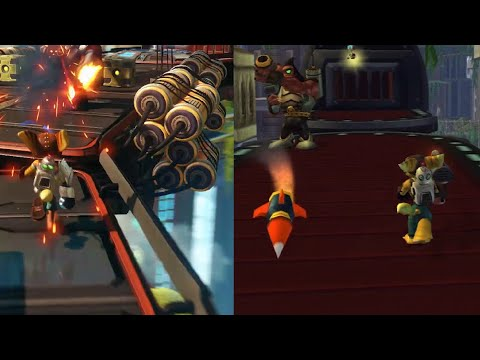 Ratchet and Clank 2016 Trailer Comparison/Analysis