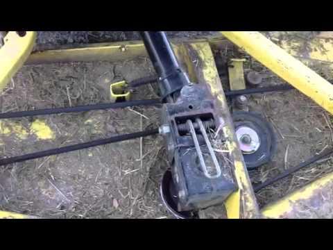 Belt On John Deere F1145 Youtube. Belt On John Deere F1145. John Deere. 1984 John Deere 60 Belt Diagram At Scoala.co