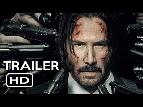 Thumbnail: John Wick: Chapter 2 Official Trailer #1 (2017) Keanu Reeves Action Movie HD