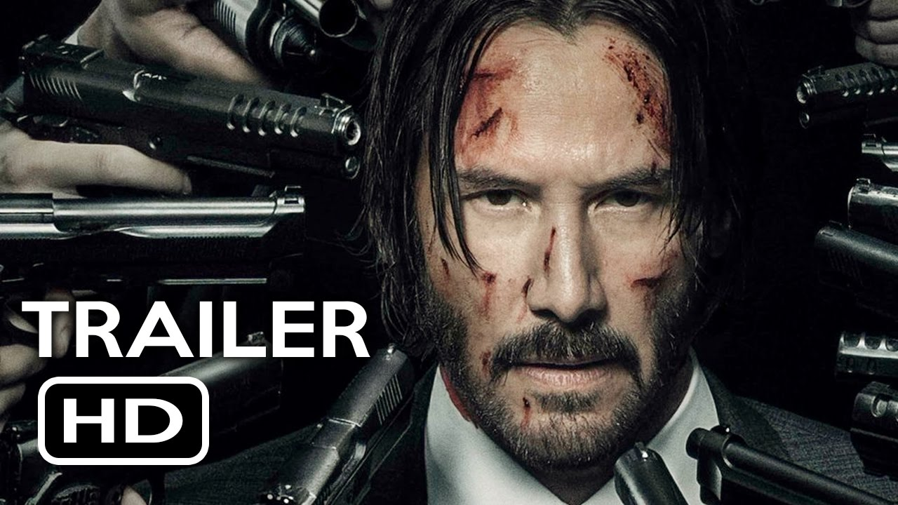 John Wick Chapter 2 Official Trailer 1 2017 Keanu Reeves Action