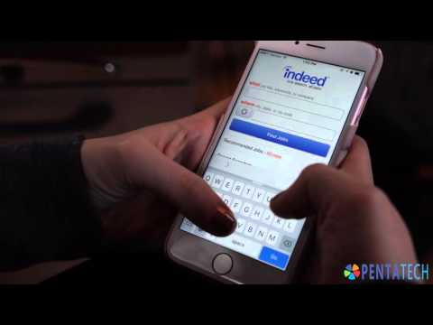 Helping find a job - Indeed for Mobile - What's on my phone