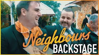 Neighbours Backstage - Chris Milligan (Kyle Canning) Chloe & Pierce's Wedding!