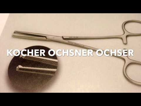 52 Basic Surgical Instruments