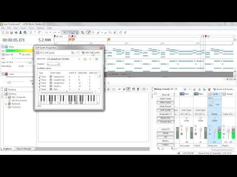 New for ACID Music Studio 8: TruePianos™ Amber Lite soft synth