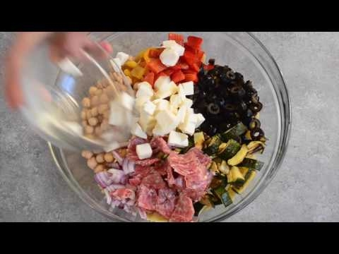 Italian Chopped Pasta Salad