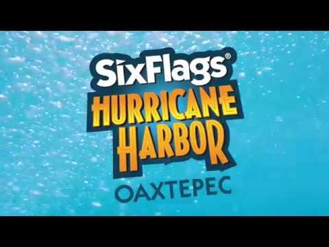 SPLASH ISLAND POV - SIX FLAGS HURRICANE HARBOR OAXTEPEC TOBOGANES