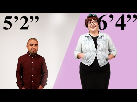 Tall Woman And Short Man Share Dating Struggles