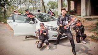LTT Nerf War : Special Police Seal x Nerf Guns Battle Criminal Group Diamond