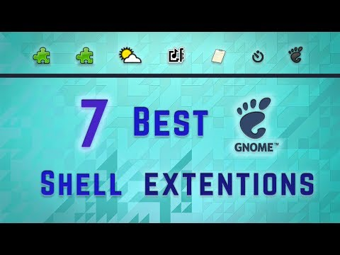 The 7 Best Gnome Shell Extensions