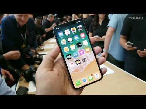 iPhone X 上手视频 2017苹果发布会 超清