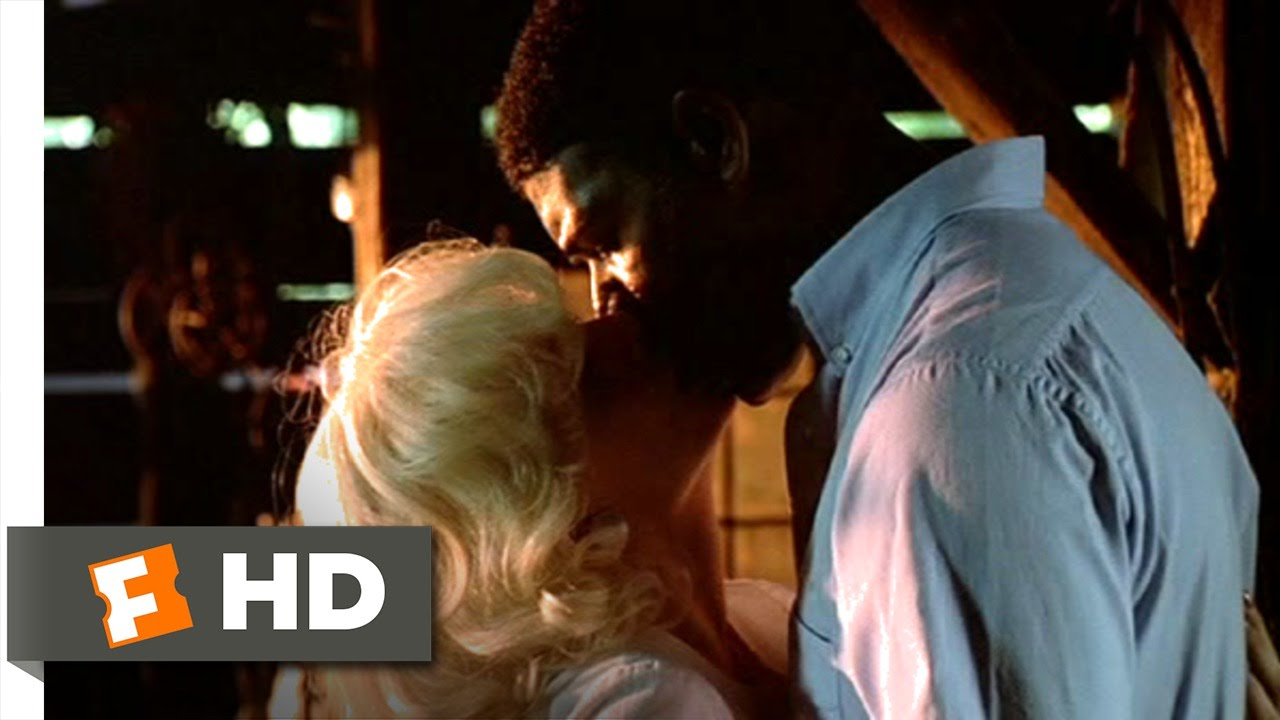 Valuable first interracial love scene in movie were visited