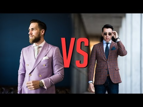 Double Breasted VS Single Breasted Suits || Men's Fashion || Gent's Lounge