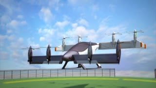 Uber lays out vision for flying urban transportation system