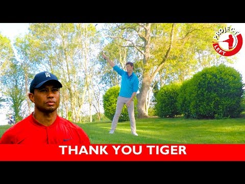 TIGER WOODS CHANGED MY GOLF GAME - PROJECTLEFT