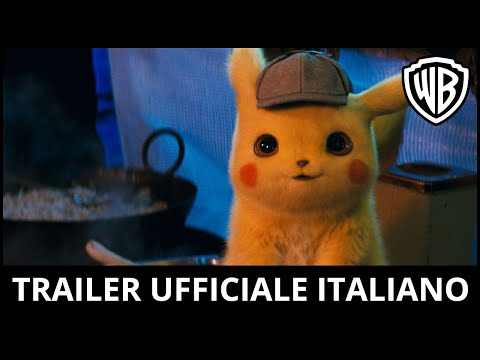 POKÉMON Detective Pikachu – Teaser Trailer Ufficiale Italiano