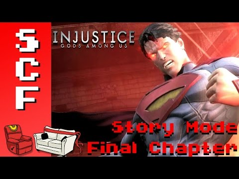 Injustice: Story Mode - Final Chapter! (Wonder Woman, Superman) Super Couch Fighters: Arcade Mode!
