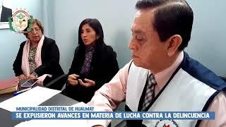 MINISTERIO DEL INTERIOR RESALTA LIDERAZGO DE ALCALDESA DE HUALMAY EN MATERIA DE SEGURIDAD CIUDADANA