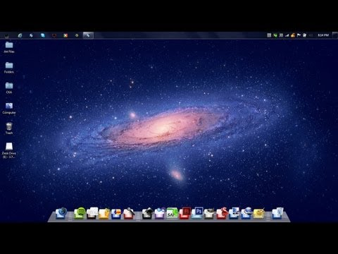 mac taskbar for windows 7 free