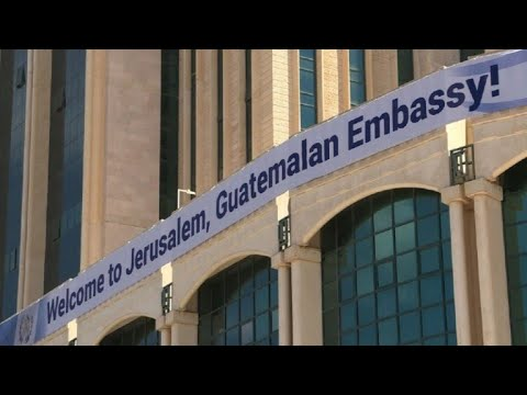 Guatemala Inauguró Su Embajada En Jerusalén
