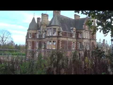 Craighouse revisited.  Old Mental Hospital, Edinburgh.