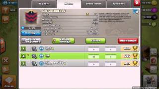 EL CLAN LOS GUERREROS CLASH OF CLANS