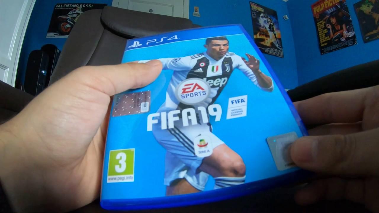 FIFA 19 - UNBOXING ITA