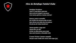 hino do Botafogo PB Com Letra