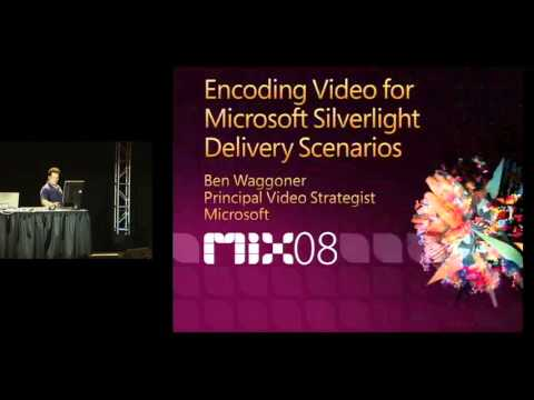 MIX08 Encoding Video for Microsoft Silverlight