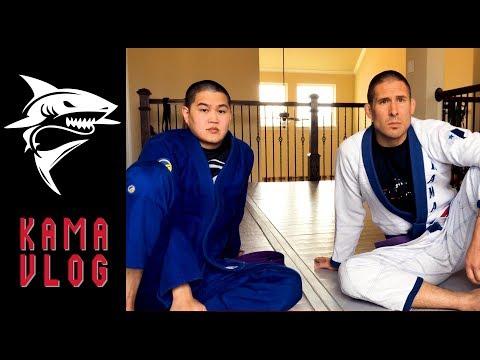 The Experiences Of Two Kama Jiu-Jitsu Purple Belts - Kama Vlog