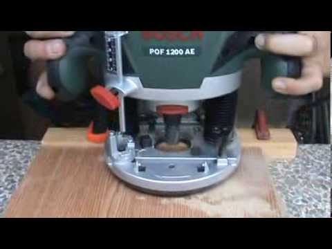 Tutorial bosch pof 1200 ae 2 youtube greentooth Images